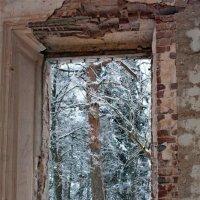 Вид из окна Церкви Иконы Божией Матери Знамение в Теплом, Московская область. :: Alexey Malishev