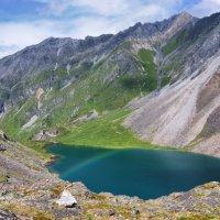 Радуга над горным озером. :: Виктор Никитин