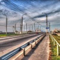 Гомель,новый мост через р.Сож :: Александр Гавриленко