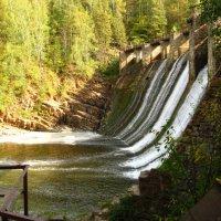 Плотина первой на Урале гидроэлектростанции 1910 года :: Ирина Васильева