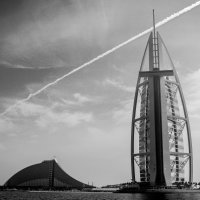 Burj al Arab i hotel volna :: Alex Okhotnikov