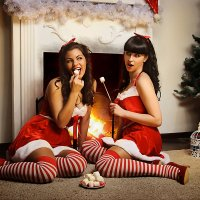 Christmas Pin-Up Girls :: Алексей Рагузин