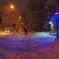 Зимний вечер в городе :: demyanikita