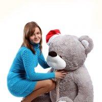 Таня и медведь :: Ирина Касаткина