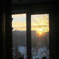 Гляжу в оконце ... :: Мила Бовкун
