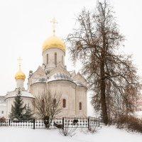 Саввино-Сторожевский монастырь. Запуржило. :: —- —-