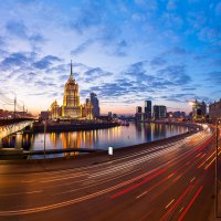 Гостиница Украина. За четверть часа до заката. :: Роман —-