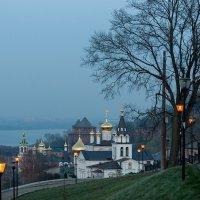 Сумерки на Ильинской горе :: Galina
