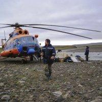 Выгрузка с вертолета :: Сергей