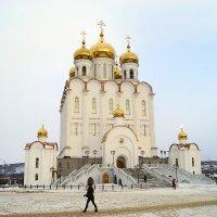 Храм в Магадане. :: Андрей Франчковский
