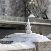 Веселый снеговичок :: Valeriy Piterskiy