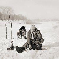 Рыбаки на Вологде :: Валерий Талашов