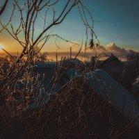 Первый восход солнца 2015 года. :: Анна Каспер