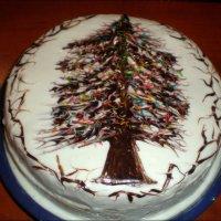 Новогодний тортик :: Татьяна Пальчикова