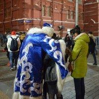 Обнимашки с Дедом Морозом. :: Oleg4618 Шутченко