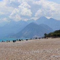 Горы с пляжем :: Натали Акшинцева