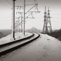 Индустриальная зима :: Андрий Майковский