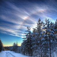 морозная радуга :: Альберт Сархатов