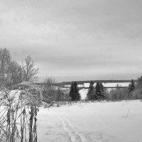 зимний пейзаж... :: Валентина. .