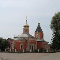 Церковь Михаила Архангела в Былово 1860-1864 :: Наталья Гусева