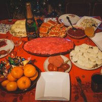 Новогодний стол :: Света Кондрашова
