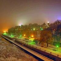 1 января 2015-Гомель с видом на набережную и парк :: yuri Zaitsev
