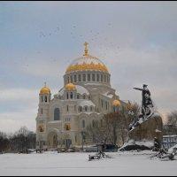 Зима в Кронштадте :: Сергей Григорьев