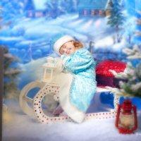 """Новогодняя сказка """"Устала внученька"""" :: Ирина Митрофанова студия Мона Лиза"""