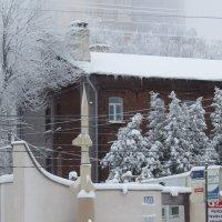 Снежный день в Нижнем Новгороде :: Ната Волга
