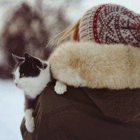девушка с кошкой :: Tanya Borokhta