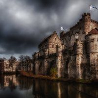 Гент. Исторический центр. Замок графов Фландрии :: Yuriy Rogov