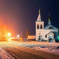 Храм в честь Амвросия Оптинского в Головино. :: Evgeniy Prosvirkin