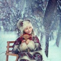 Зимняя сказка... :: Надежда Шибина