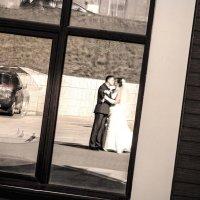 отражение в окне :: Оксана Бурьян