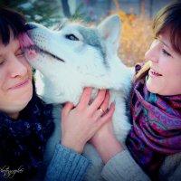 очень любит всех целовать :: Людмила Бадина