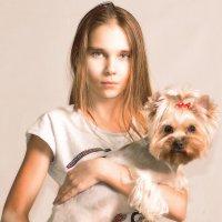 Дамочка с собачкой :: Кристина Бессонова