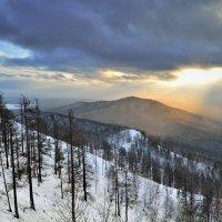 Снеговой заряд. :: Сергей Адигамов