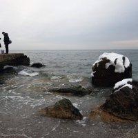 Черное море в январе :: Людмила
