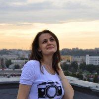 Встречая закат... :: Алена Каминская