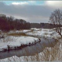пейзаж с речкой :: Дмитрий Анцыферов