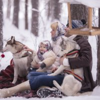 Рождественская фотосессия. :: Алексей Хаустов