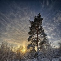 вечер зимний :: Андрей Иванов