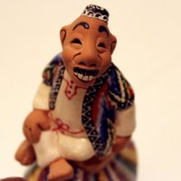 Восточный мудрец (глиняные фигурки ручной работы) :: Татьяна Буркина