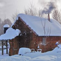 Банька топится... :: Николай Малуха