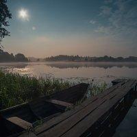 лунный пейзаж с зайцами.... :: Геннадий Скалабан