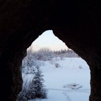 Окно в зиму. :: Сергей Комков