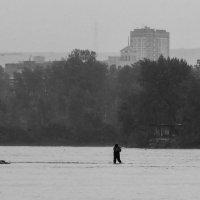 Рыбаки на Енисее. :: Сергей Бажов