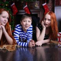 Лера, Настя и Саша :: Марина Щуцких