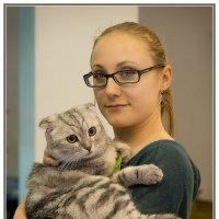 Девушка с кошкой :: Олег Терёхин
