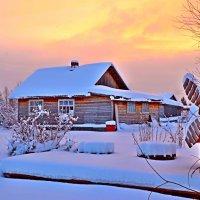 морозное утро :: Елена Третьякова